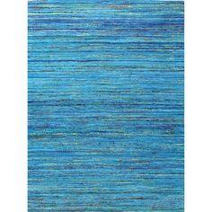 Bashian Rugs Bohemian Blue& Gold Area Rug Rug Size: