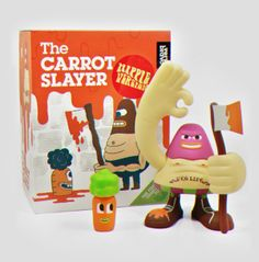 Very Bravo Toys by Mauro Gatti, via Behance