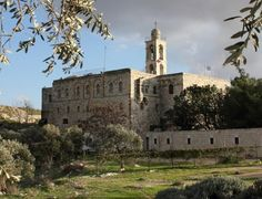 Mar Elias Monastery on the road to Bethlehem in south Jerusalem Jerusalem Travel, New Jerusalem, Jewish Temple, Benedictine Monks, Mount Of Olives, World Religions, Bethlehem, Day Tours, Great View