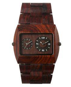 WeWood Jupiter Brown Wooden Watch For Men Cool Watches, Watches For Men, Men's Watches, Gifts For Hubby, Men Accesories, Fashion Accessories, Watch The Originals, Wooden Watch, Cool Items