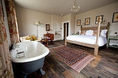 near Bath, Somerset Hotel in the Mendip Hills Somerset Hotel, Bath Somerset, Somerset England, Country Hotel, Country House Hotels, Bedroom With Bathtub, Master Bedroom, The Pig Hotel, Ideas
