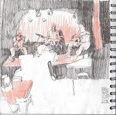 TREY BRYAN: sketchbook pages