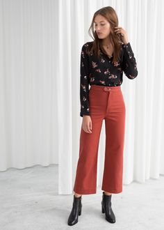 a5a7ab51a82 27 Best How To Style Culottes images