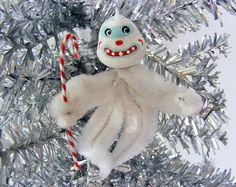 Yeti Chenille Ornament