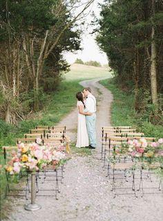 Zeremonie im Freien in Nashville - Wedding Ceremony Ideas - Wedding Ceremony Ideas, Outdoor Ceremony, Wedding Table, Wedding Venues, Wedding Ceremonies, Wedding Blog, Wedding Stuff, Dream Wedding, Wedding Aisles