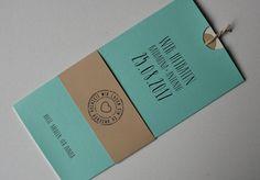 Hochzeitskarte Amira mint-creme