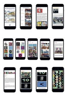 Alle iPhone layout's