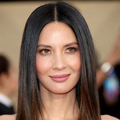 9 Celebrity-Approved Nude Lipsticks to Wear on Valentine's Day - Olivia Munn in Chanel