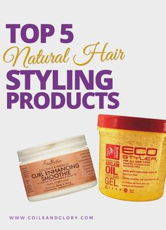 Styling Products for Natural Hair