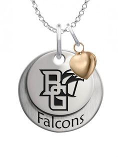 Bridgewater State Bears 14k Yellow Gold Cut Out Logo College Charm