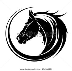 Find Horse Circle Tribal Tattoo Art stock images in HD and millions of other royalty-free stock photos, illustrations and vectors in the Shutterstock collection. Tribal Horse Tattoo, Tribal Tattoos, Horse Tattoos, Horse Head, Horse Art, Horse Stencil, Animal Stencil, Tribal Animals, Head Tattoos
