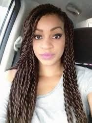 Image result for medium senegalese twist