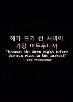 BTS : TOMORROW