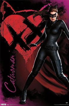 Póster Batman: The Dark Knight Rises, Catwoman