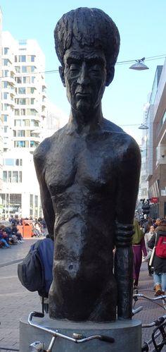 Den Haag - beeld in een winkelstraat