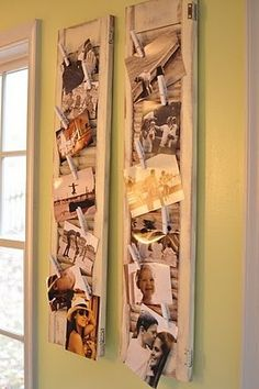 Use shutters to display photos