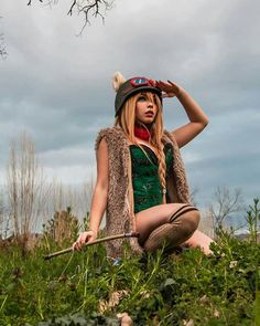 Cosplay: teemo (league of legends)  Cosplayer: jessica zibelli_kerli make up and cosplay Page fb: kerli make up and cosplay Ph: yunie Instagram: jessica (kerli)  Follow me ^^ <3