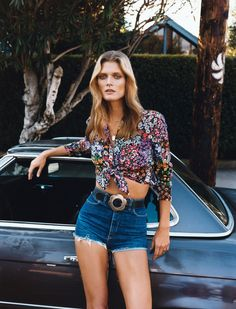 Malgosia Bela by Angelo Pennetta for Self Service Spring Sumer 2015