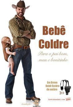 E aí Cowboys, que tão carregar os seus Padawans com esse confortável e prático Bebê Coldre? E dependendo o que você deu para ele comer, o seu Padawan pode ainda ser usado como uma poderosa arma!