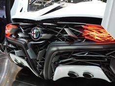 Bertone Alfa Romeo Pandion, kiezby takto vyzerala felicita.