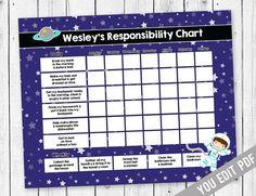 Kids chore chart, Reward Chart, Chore chart, Responsibility Chart, Weekly Chore Chart, Behavior Chart, Chore Chart for Kids, YOU EDIT PDF   #PaperGoods #ChoreChart #ResponsibilityChart #stationery #RewardChart #AllowanceChart #WeeklyChoreChart #BehaviorChart #ChildrensChart #IncentiveChart