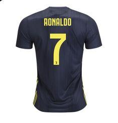 Ronaldo  7 Juventus AWAY Jersey soccer 2018-2019 -free shipping ecbf8e1f49e0f