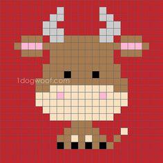 Zoodiacs ox c2c graph  www.1dogwoof.com