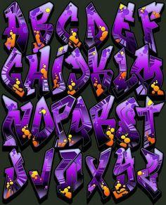 32 Inspirational Graffiti Alphabet Letter Examples: