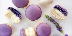 Lavendel Makrönchen
