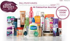 Allure Beauty Box: Fall Must Haves – Just bought 2 of these.  Such a great value!!