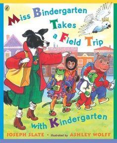 Miss Bindergarten and Community Helpers