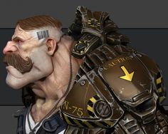Game Character Design Tips : 50 amazing 3d game characters design masterpieces for inspiration