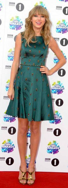 Taylor Swift - 2013 Teen Awards - London - October 03, 2013.