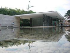 The German Pavillion of Mies Van Der Rohe