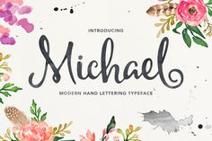 Font Crush: Pretty Calligraphy Fonts Part 2 | Fancy Girl Designs