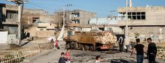 Kurdish sources have said that the Turkish army shelled a district in the city of Nusaybin, southern Turkey, using munitions which were l...