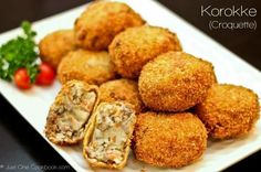 Korokke (Japanese Croquette) is by far my favorite food that my mom makes. This is my original recipe that I have developed over the past years.