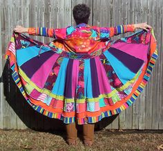 COLORFUL COTTON Sweater Coat Repurposed Recycled by RevampReuse
