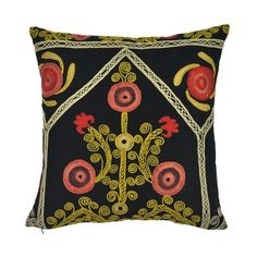 I pinned this Niurka Suzani Pillow from the Found Object event at Joss and Main!
