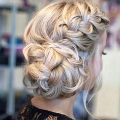Perfect #updo #hairstyle
