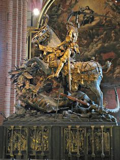 Bernt Notke, St. George and the Dragon, Storkyrkan, c.1487 | Flickr - Photo Sharing!