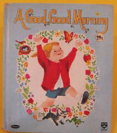 A GOOD, GOOD MORNING vintage Whitman Top Tales 1963 Bill Bonnie Rutherford VG