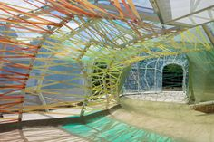 Exclusive video preview of SelgasCano's 2015 Serpentine Gallery Pavilion.