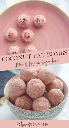 Looking for something a bit more substantial when it comes to your energy balls? Try my delicious and easy fat balls made with lots of coconut hemp hearts and collagen! These are sure to help keep you feeling full. Dairy Free Recipes, Paleo Recipes, Low Carb Recipes, Snack Recipes, Paleo Food, Food Food, Paleo Meals, Ketogenic Recipes, Healthy Food
