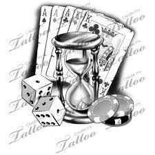 Bildergebnis für skull hourglass tattoo