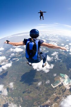 Life is all about perspective. This just happens to be 15,000 feet in the air - 15 000 pieds d'altitude !