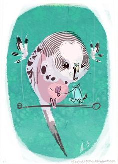 Steph Laberis - she has a great sense of humour that comes through in her illustrations.