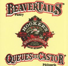 Hookers and BeaverTails napkin. For those confused, a BeaverTail is fried dough with cinnamon sugar sprinkles, and a squeeze of lemon over them.