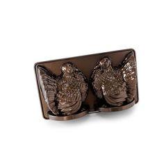 Brown Classic 3-D Turkey Mold Pan