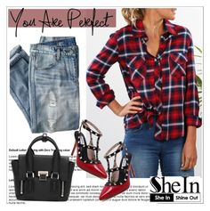 """""""Shein.com 10"""" by aida-nurkovic ❤ liked on Polyvore featuring J.Crew and Sheinside"""